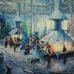 KUŹNIA_MP_02   oil, linen   120x90   MMXI  
