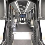 projekt i wizualizacja wnętrza tramwaju /03