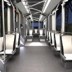 projekt i wizualizacja wnętrza tramwaju /04