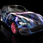 projekt wrappingu Mazda MX5