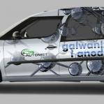 projekt i wizualizacja oklejenia auta firmowego